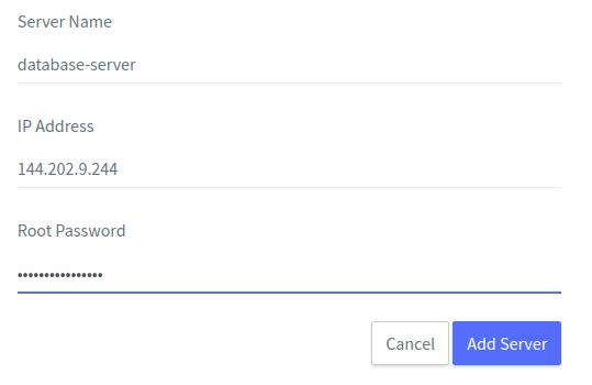 connecting server with ServerAvatar